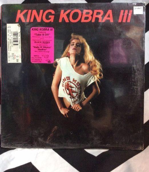 product details: VINYL RECORD - KING KOBRA III photo