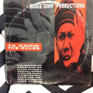 Boogie Down Productions â??â?? Ya Know The Rules 1