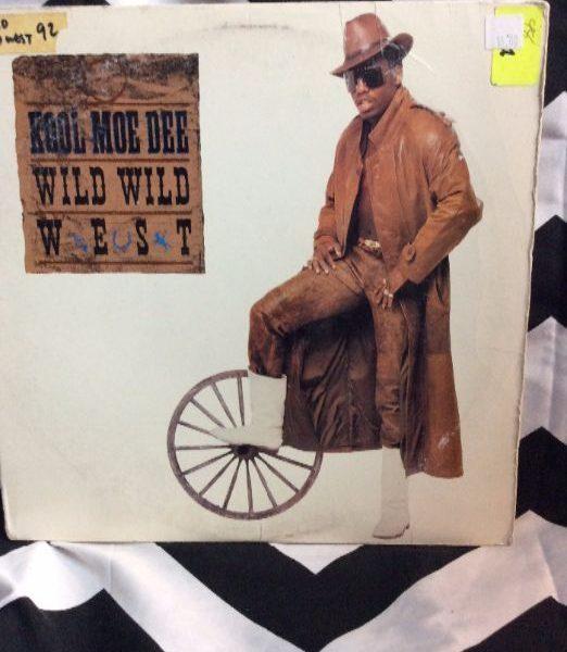 product details: VINYL RECORD - KOOL MOE DEE - WILD WILD WEST photo