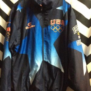 USA OLYMPICS WINDBREAKER JACKET 1
