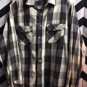 LS BD BUFFALO CHECK FLANNEL SHIRT as-is 1