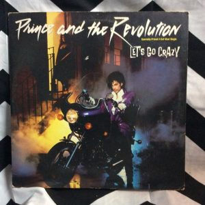 PRINCE AND THE REVOLUTION Lets Go Crazy Single 1