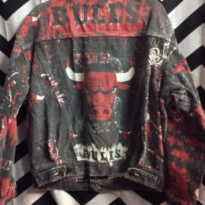 CHICAGO BULLS DENIM JACKET 1