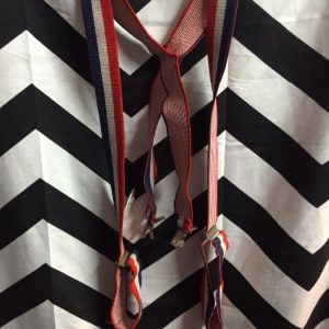 STRIPED SUSPENDERS 1