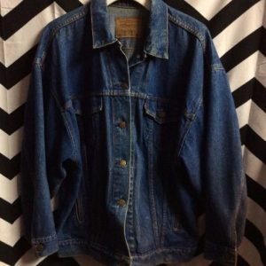 OVERSIZED DENIM JACKET 1