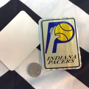 STICKER INDIANA PACERS VENDING CARD *old stock 1