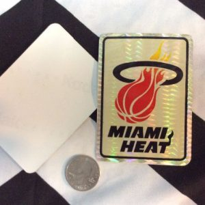STICKER MIAMI HEAT VENDING CARD *old stock 1