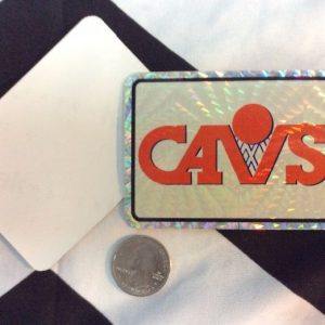 STICKER CAVS VENDING CARD *old stock 1