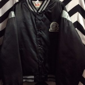 RAIDERS PUFFY WINDBREAKER PATCH ON FRONT 1