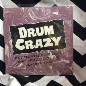 DRUM CRAZY FAT BEATS FOR DJS AND PRODUCERS VOL 2 1