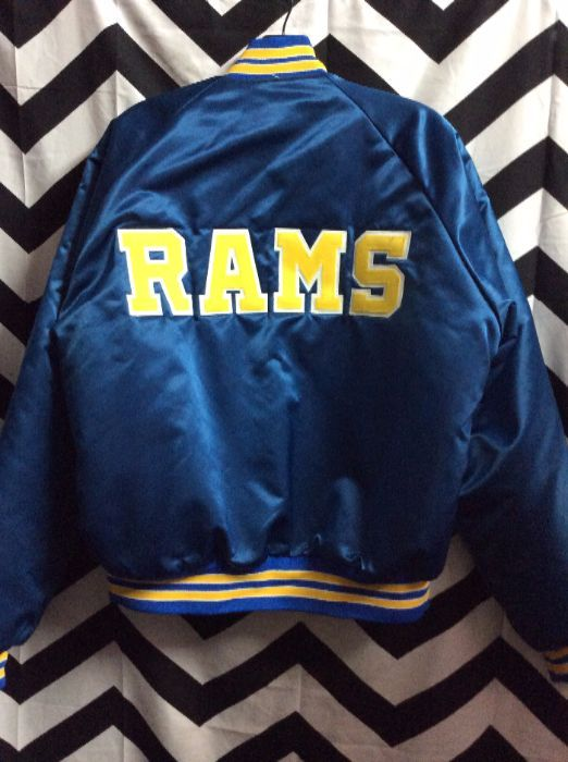 competitive price 46dec e71fa Los Angeles Rams Chalkline jacket with letters on back