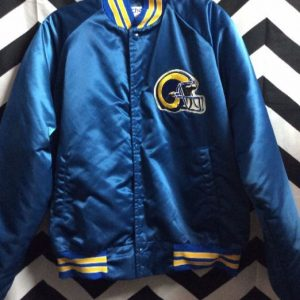 Los Angeles Rams Chalkline jacket with letters on back 1