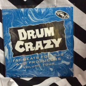 DRUM CRAZY FAT BEATS FOR DJS AND PRDUCERS VOL 4 1