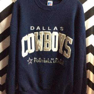 Dallas Cowyboys Embroidered Pullover sweatshirt 1