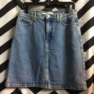 CLASSIC DENIM SKIRT TOMMY HILFIGER MADE IN USA 1