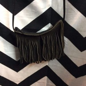 SMALL SUEDE FRINGE PURSE CROSSBODY 1