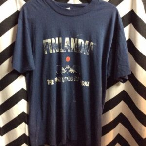 T SHIRT FINLANDIA VODKA 1