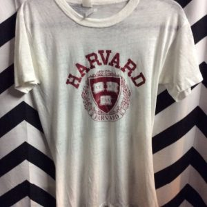 T SHIRT HARVARD VE RI TAS SOFTY SEE THRU 1