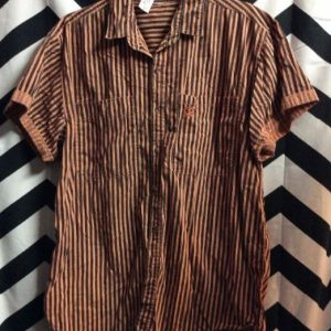 SS BD 1990S VERTICAL STRIPED SHIRT SAVED BY THE BELL 1