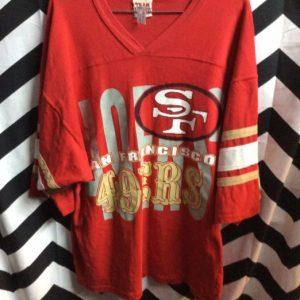 TSHIRT JERSEY SAN FRANCISCO 49ERS 1