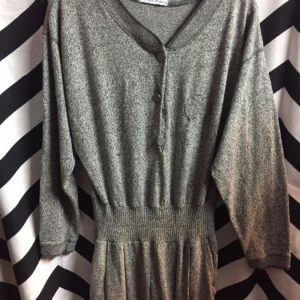 LS Grey jersey style jumpsuit 1
