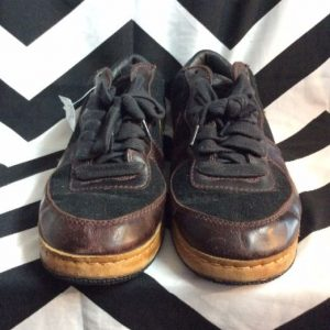 LOW TOP NIKE SB LEATHER PANELS LEATHER SOLE 1