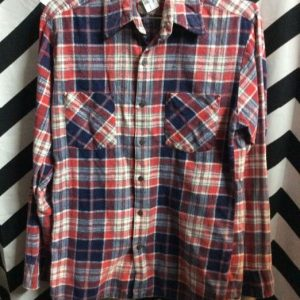 LS BD FLANNEL SHIRT SMALL FIT 3