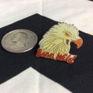 PIN - EAGLE W/BORN WILD 1