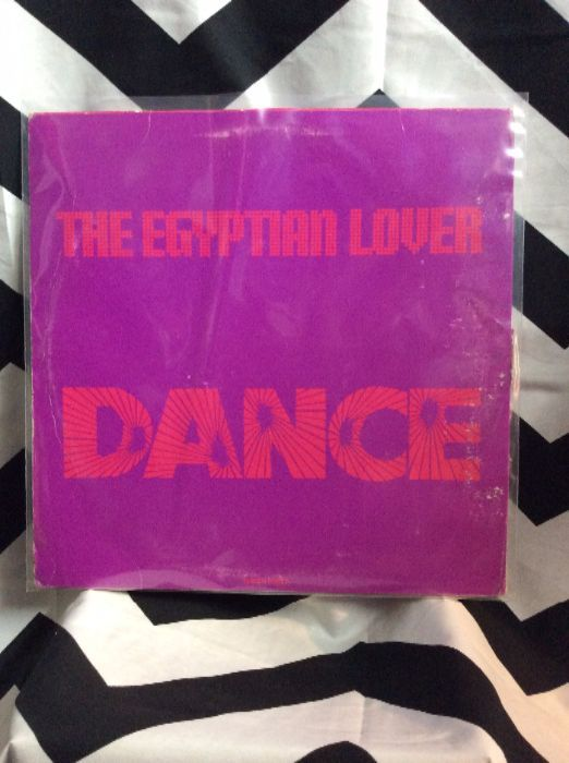 product details: VINYL RECORD - THE EGYPTIAN LOVER-DANCE - SINGLE photo