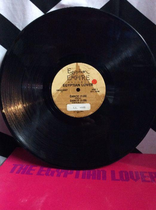 THE EGYPTIAN LOVER-DANCE-SINGLE 2