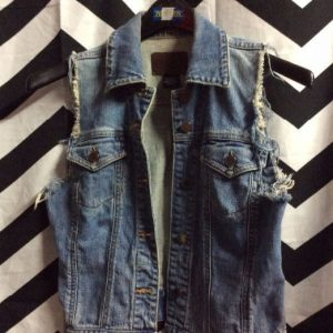 DENIM VEST SMALL FIT SOFTY 1