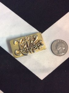 Money Clip Las Vegas Gold w/ dices 1