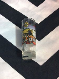 Shot Glass OKLAHOMA STATE 1