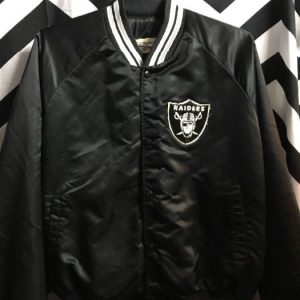 CHALK LINE RAIDERS JACKET LARGE BACK LETTERING as-is 1