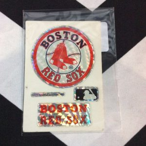 STICKER BOSTON RED SOX VENDING CARD *old stock 1