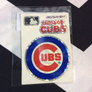 STICKER CHICAGO CUBS VENDING CARD *old stock 1