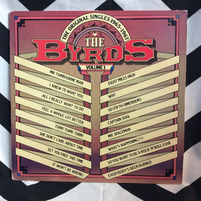 The Byrds ?– The Original Singles 1965-1967 Volume 1 (All the HITS!) *glossy 1