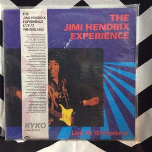 The Jimi Hendrix Experience ?– Live At Winterland *2-LP, CLEAR VINYL *sealed!!!!! 1