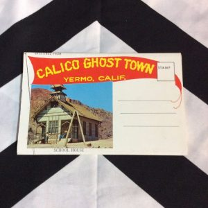 CALICO GHOST TOWN CALIFORNIA POSTCARD BOOK 1