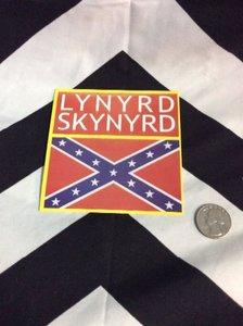 LYNYRD SKYNYRD CONFEDERATE FLAG STICKER 1