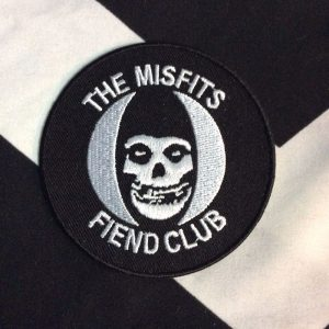 BW PATCH- 4222 Misfits Fiend Club Patch 1