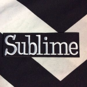 BW PATCH- 4139 Sublime Rectangle logo BW Patch 1