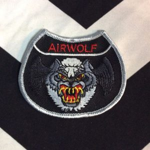 BW Patch- Air Wolf Patch 1 PM-34 1