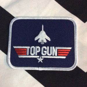 BW Patch- Top Gun Rectangle Patch PM-38 1