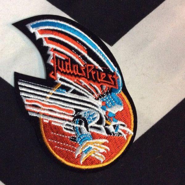 product details: BW PATCH - JUDAS PRIEST - BIRD W/SUN DESIGN photo