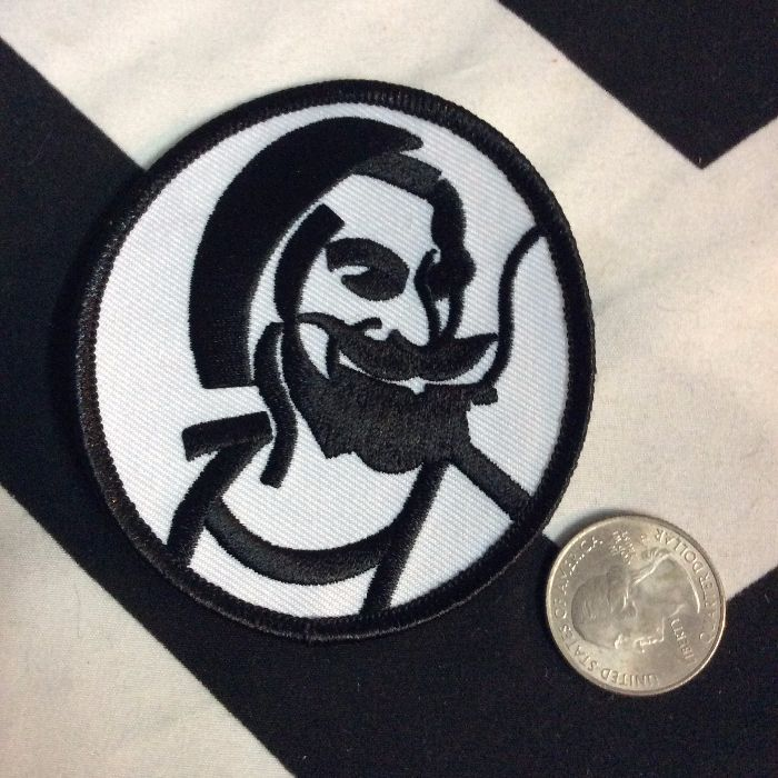 BW PATCH- ZIG ZAG MAN PATCH 887 2