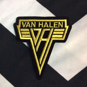 BW PATCH- 4170 Van Halen Classic V logo Patch 1