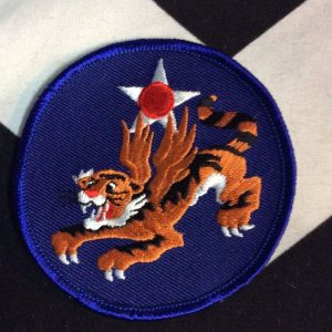 BW Patch- Blue Circle Tiger Patch PM-64 1