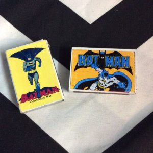 ASSORTED NOVELTY MATCH BOXES- COMIC 1