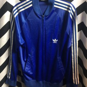 CLASSIC 1980s ADIDAS Keyrolan TRACKSUIT ZIP UP JACKET small fit 1
